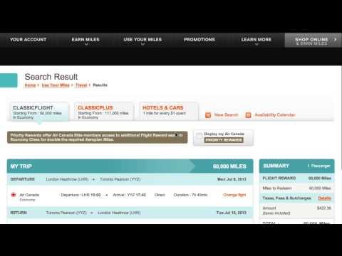 How to Get Cheaper Aeroplan Reward Tickets