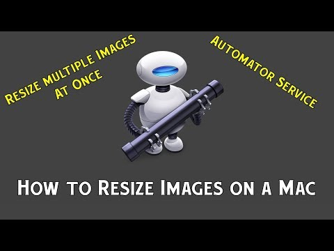 How to Resize Multiple Images on a Mac - Automator Service