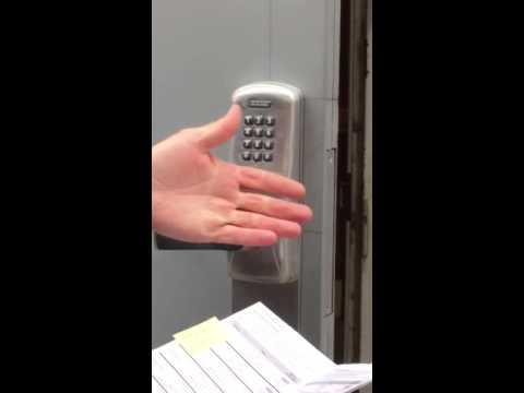 Programming the Schlage push-button lock