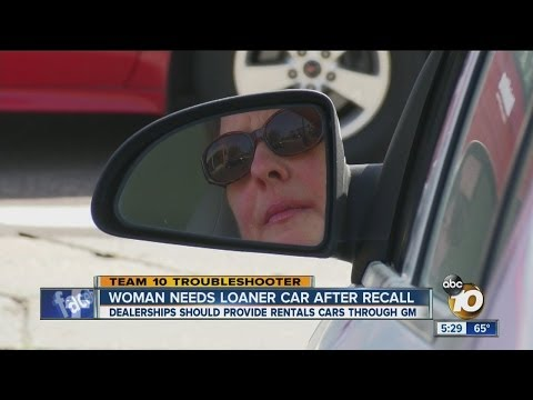 Team 10 helps woman get a loaner car after GM recall