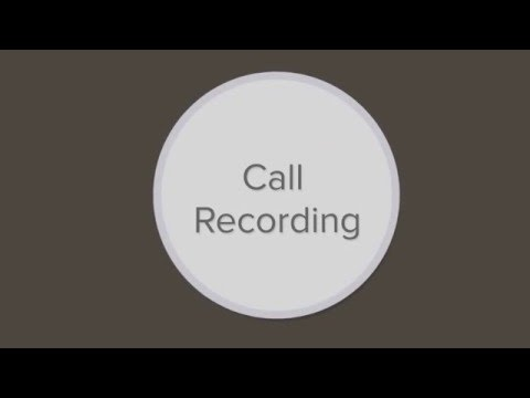 CAP Call Recording Tutorial