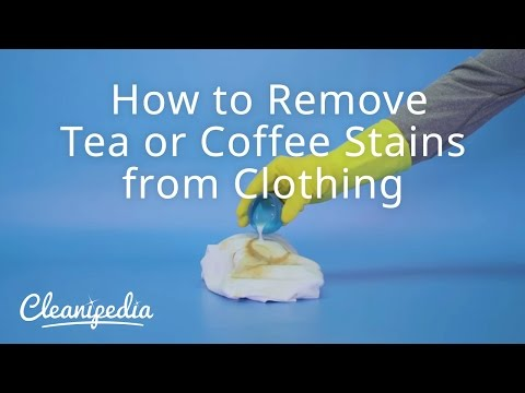 How to Remove Tea or Coffee Stains from Clothing