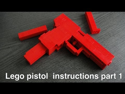 Lego pistol instructions part 1 of 2