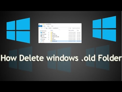 How To Delete Windows.Old Folder | Delete old windows - Tech 8