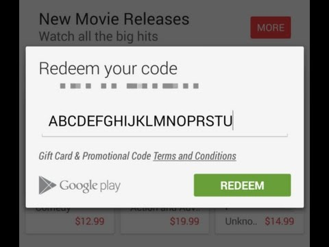 How To Get FREE Playstore REDEEM CODE