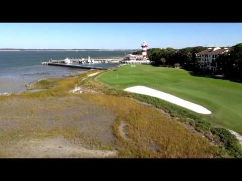 The Sea Pines Resort Flyover Video - Hilton Head Island