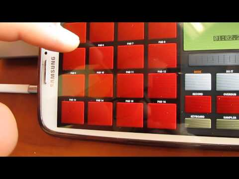 Making beats on your phone !?!? Su-Preme MPA - Android® OS App Test (Days of Discipline)