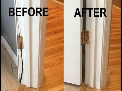 DIY - Broken door frame/jamb repair without full frame removal
