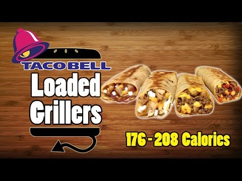 All Four Taco Bell Loaded Grillers Recipe