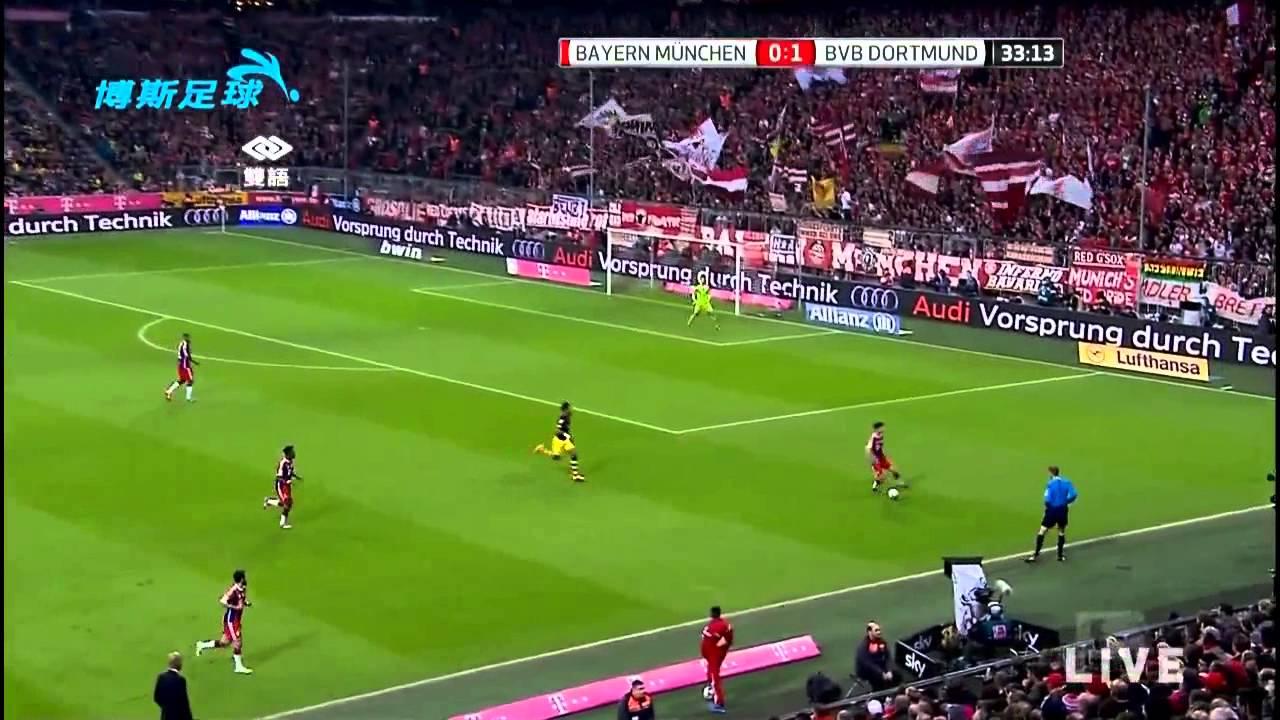 141102 德甲 拜仁 VS 多特 第10輪