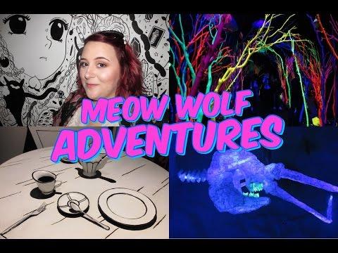 Meow Wolf Adventures VLOG