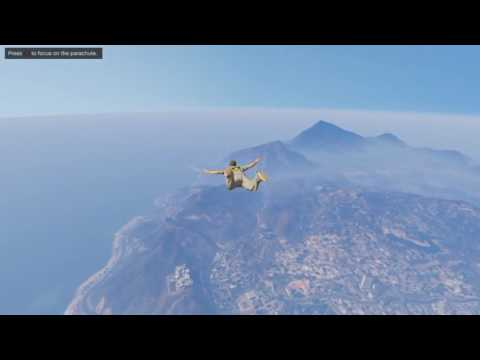 GTA V: Online (How to max out your Flying Skill and get $$$) PS4/X1/X360/PS3/PC