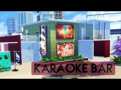 Sims 4 | House Building | Karaoke Bar - Rebuilding Planet Honey Pop!