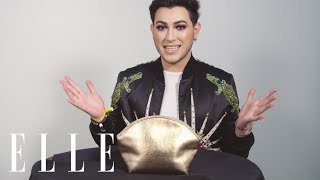 Manny MUA Does an Insane Makeup Look on an ELLE Editor in 5 Minutes! | Mystery Beauty Bag | ELLE