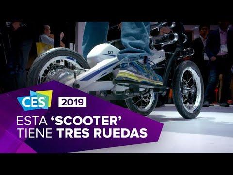 Yamaha Tritown: Una ebike o scooter eléctrica con mucho estilo
