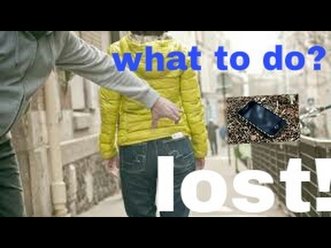 How to find? Track a lost! Or stolen smartphone ??