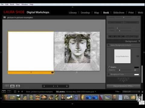Lightroom 4, 5 Book Module Tutorial: Cool Picture-in-Picture-Page Layout Designs