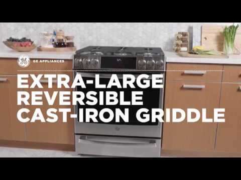 Extra-Large Reversible Cast-Iron Griddle