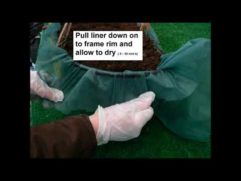 Lining a Garden Window Box with the Amateur's Answer Universal Liner