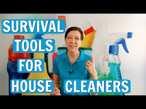 #1 Survival Tool for House Cleaners