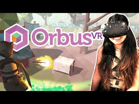 MMORPG IN VR! | OrbusVR MMO (Upcoming HTC Vive Games 2017) #1