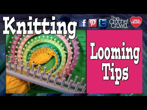 How to Loom Knit: Cast Off