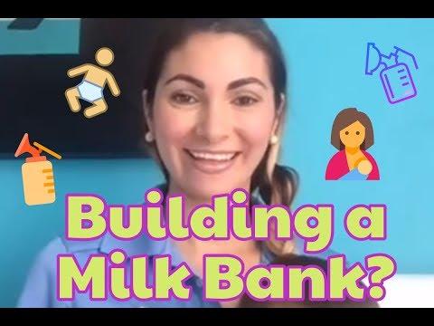 Building a milk bank? How do you even start ? 🤔