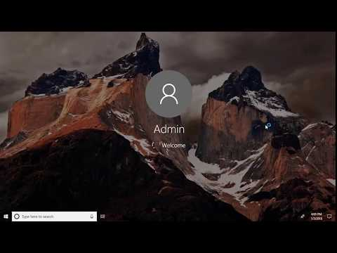 How to  bypass  Login password & Lock Screen in Windows 10