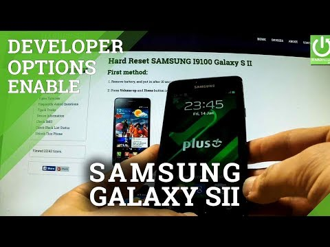 How to open Download Mode SAMSUNG I9100 Galaxy S II - Enter and Exit Download Mode