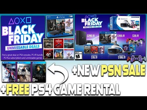 Xxx Mp4 PS4 BLACK FRIDAY DEALS REVEALED NEW PSN SALE FREE PS4 GAME RENTAL 3gp Sex