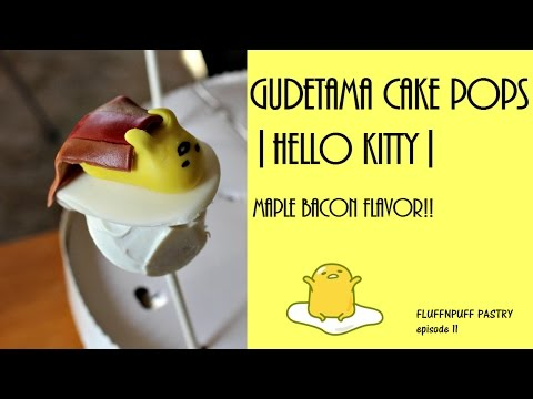 Gudetama Cake Pops |Hello Kitty/Sanrio| - Fluffnpuff Pastry