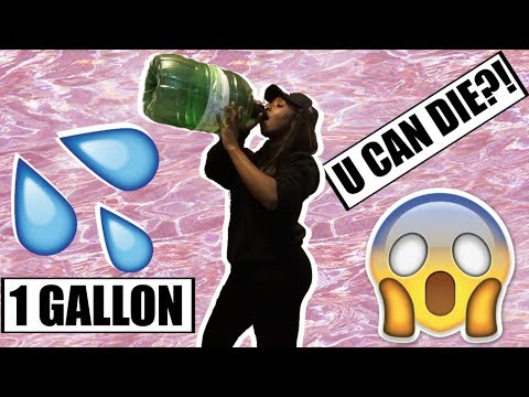 I DRANK 1 GALLON OF WATER AND THIS IS WHAT HAPPENED TO ME!
