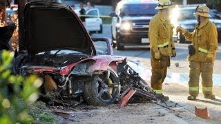 Paul Walker Car Crash Rare Live Footage (fast and the furious actor dead)