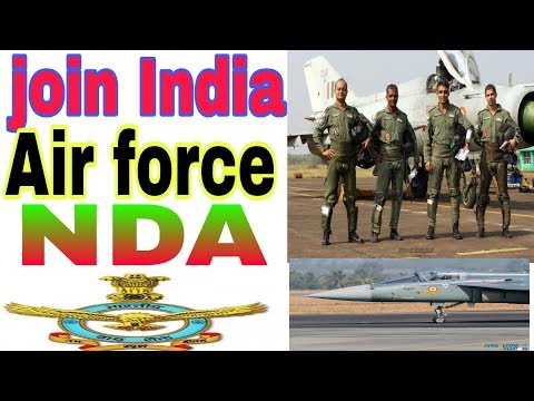Join Indian air force through NDA