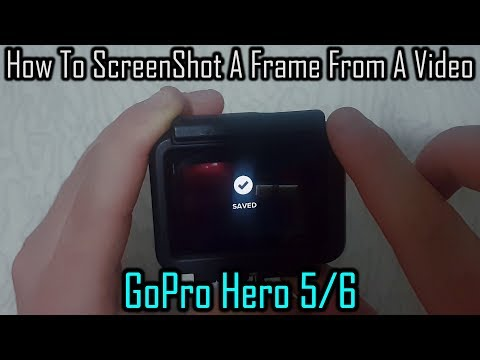 How To ScreenShot A Frame From A Video (GoPro Hero 5/6)