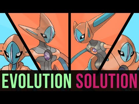 An Evolution Solution: Deoxys, Attack, Defense, or Speed? (ft. HybridHero)