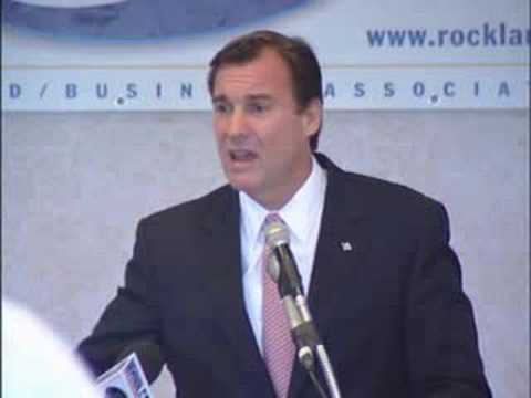 Rockland Business Association: Part 1 - Tom Suozzi on NYS Property Taxes