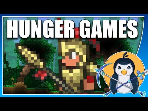 HUNGER GAMES // NEW TERRARIA MINIGAME