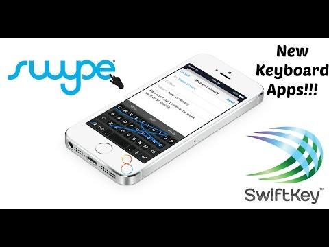 iOS 8: SwiftKey and Swype Keyboard Apps