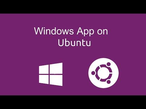 How to install windows application on Ubuntu 16.04 ? - 2017