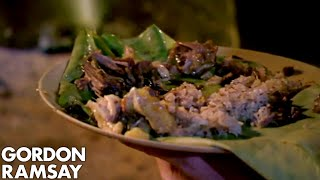 Gordon Ramsay Is Blown Away By Tribe's Curry | Gordon's Great Escape