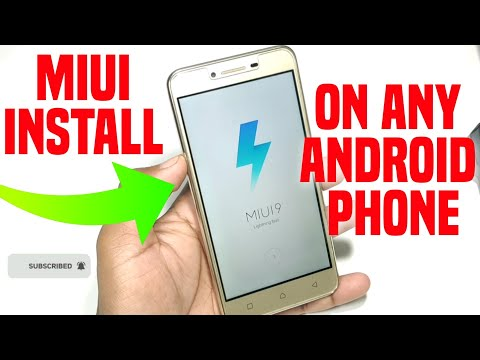 MIUI 9 Install On Any Android Phone || Full Video Live PROOF 2019
