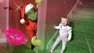 The GRINCH STOLE a KISS!