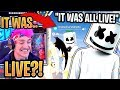 Marshmello CONFIRMS He Was *LIVE* Talking During the Event! - Fortnite Best and Funny Moments