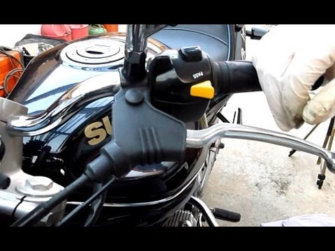 How To Replace a Clutch Cable - Suzuki Bandit 600