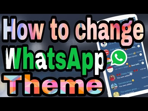 How to Change Whatsapp Theme and Colour