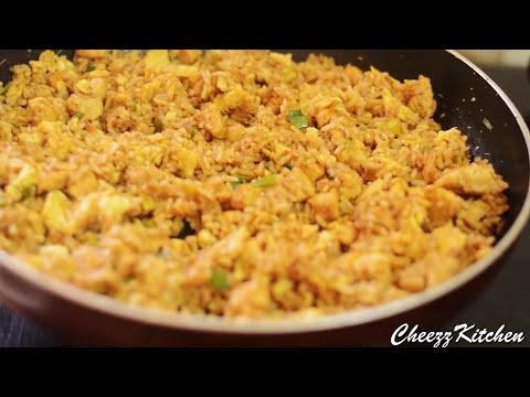 Spicy Chicken Egg Rice