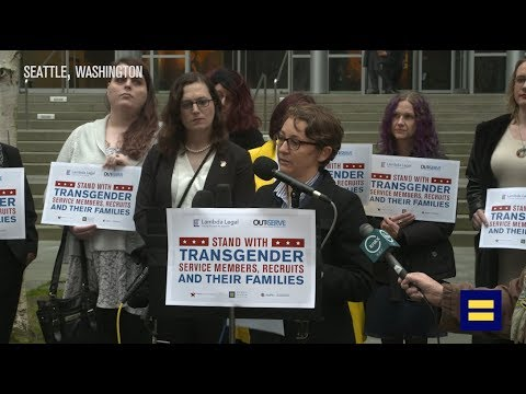 HRC Challenges Transgender Military Ban in Court Press Conference