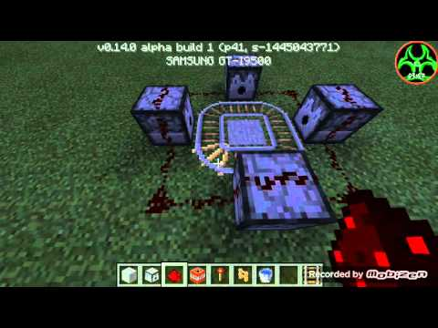 How to make tnt raining mortar in MCPE 0.14.0 (BB)