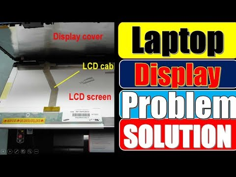 Laptop Display Problem   Laptop Repairing Course   in Hindi   How to change laptop display  